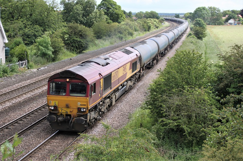 66080 1157/6m00 Humber-Kingsbury passes Knabbs Bridge
