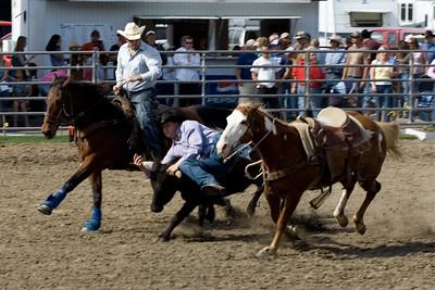 2007 Steer Wrestling