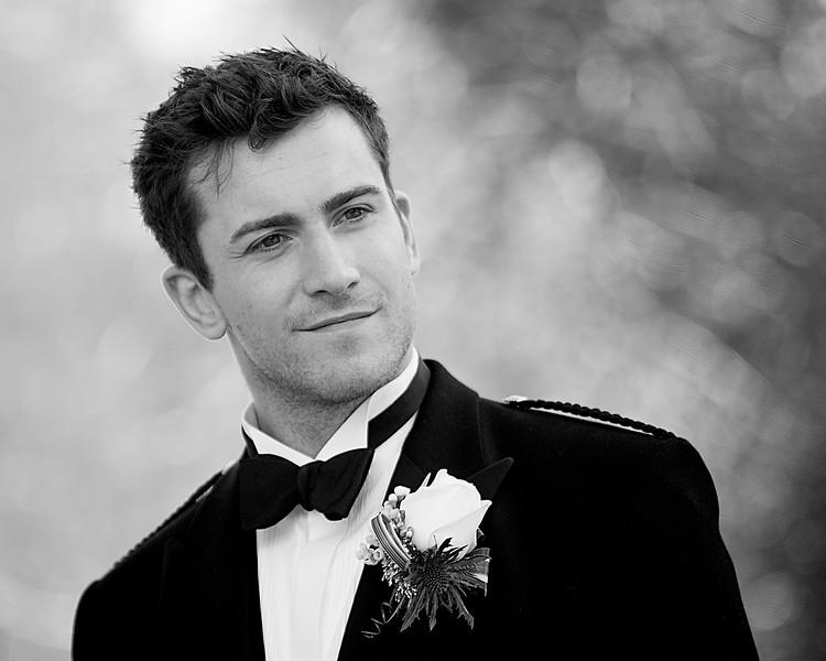 Groom Wedding Photograph