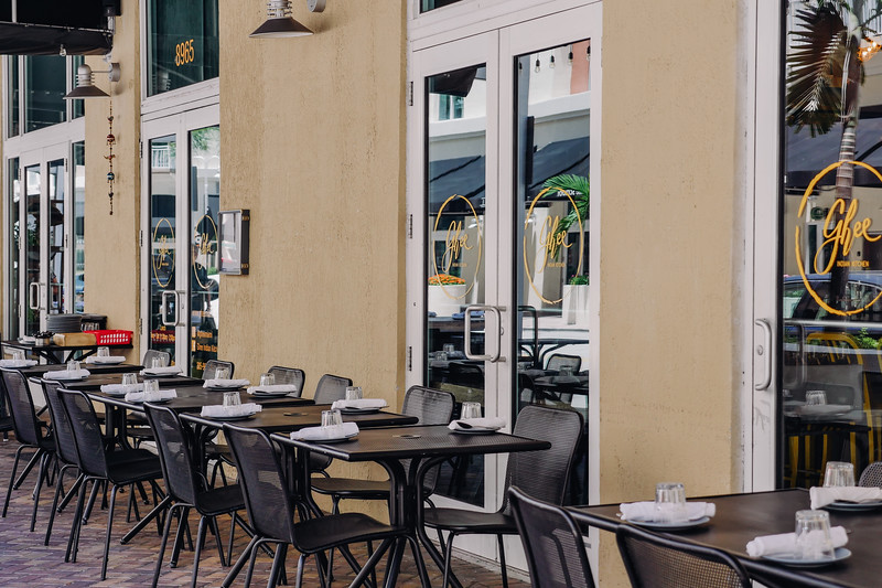 Ghee Indian Kitchen - outside seating