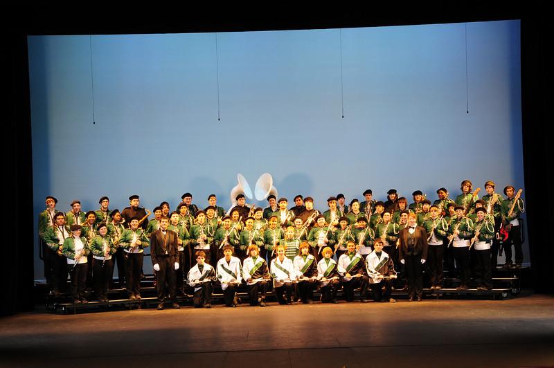 PHS Marching Band - Nov 28 2008