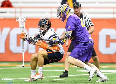 NCAA MLax: Albany at Syracuse; 2/21/16