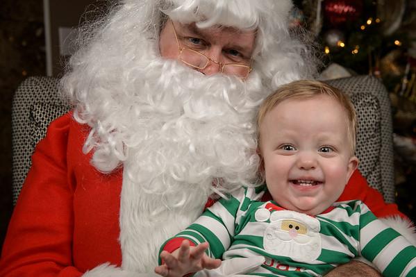 24 Santa Visit