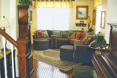 Main floor living area.