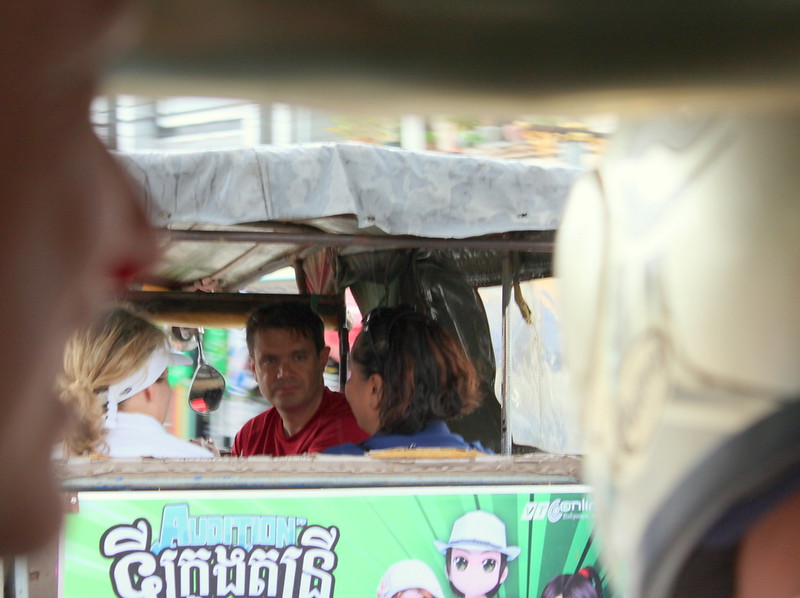 Getting around by Tuk-Tuk