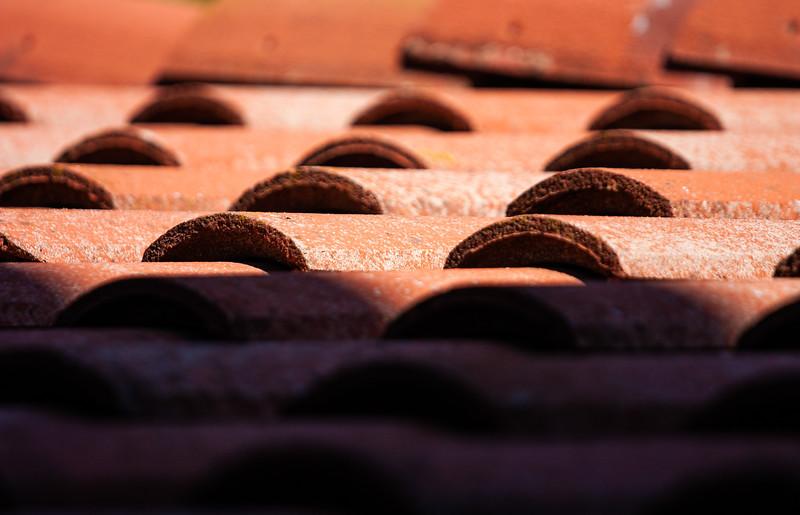 Roof, Testarossa Winery, Los Gatos, California, 2009