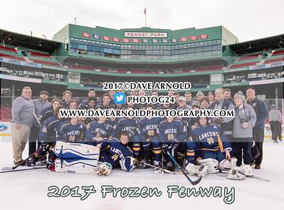 1/11/2017 - Boys Varsity Hockey - Frozen Fenway - Xaverian vs Malden Catholic