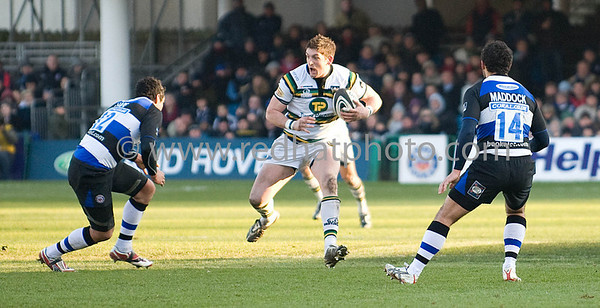 Bath vs Northampton Saints, Guinness Premiership, Recreation Ground, 27 December 2008