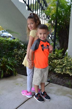 Leo VPK & Lily Joy 1st Grade