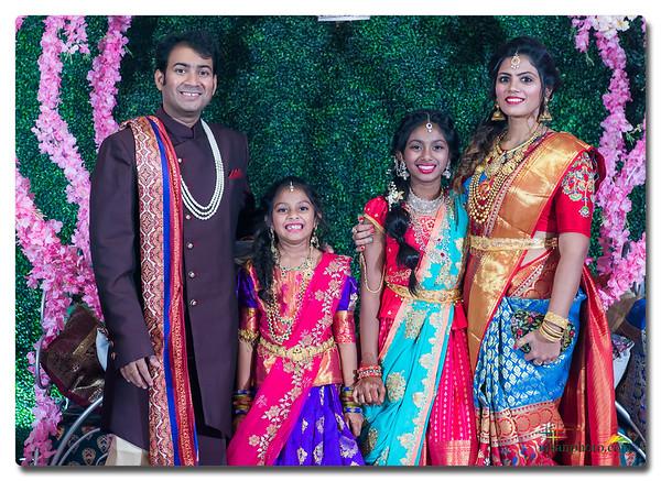 Sansha & Lasya's Half-Saree Ceremony 2019