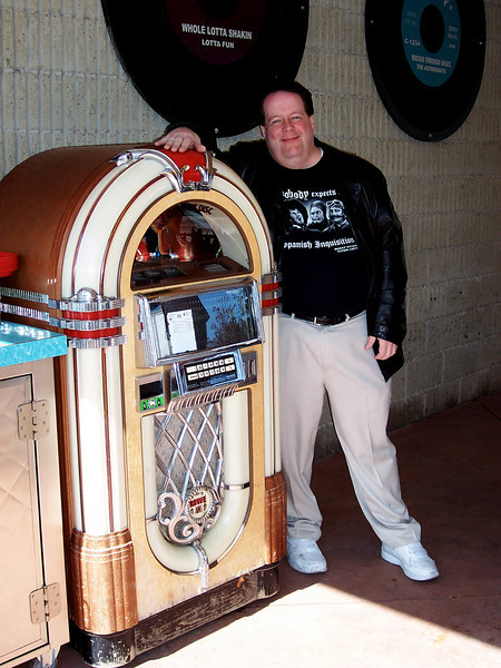 Steve and the jukebox.