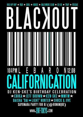 BLACKOUT x Californication