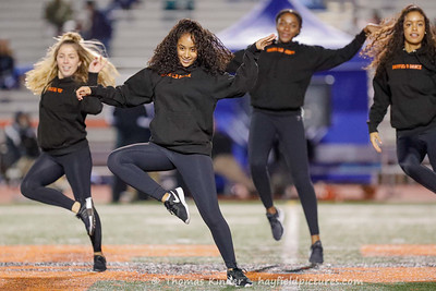 Dance Team at West Potomac Football Game 11/8/19