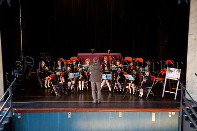 Kilbroney Integrated PS Rostrevor who took part in the Primary Schools Orchestra at Newry Feis. R1510011