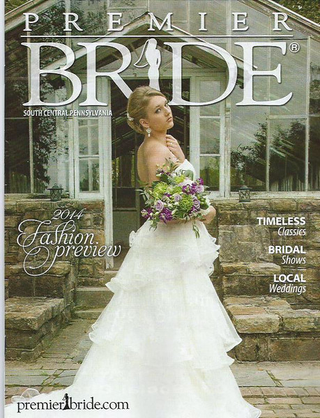 Premier Bride Magazine Cover