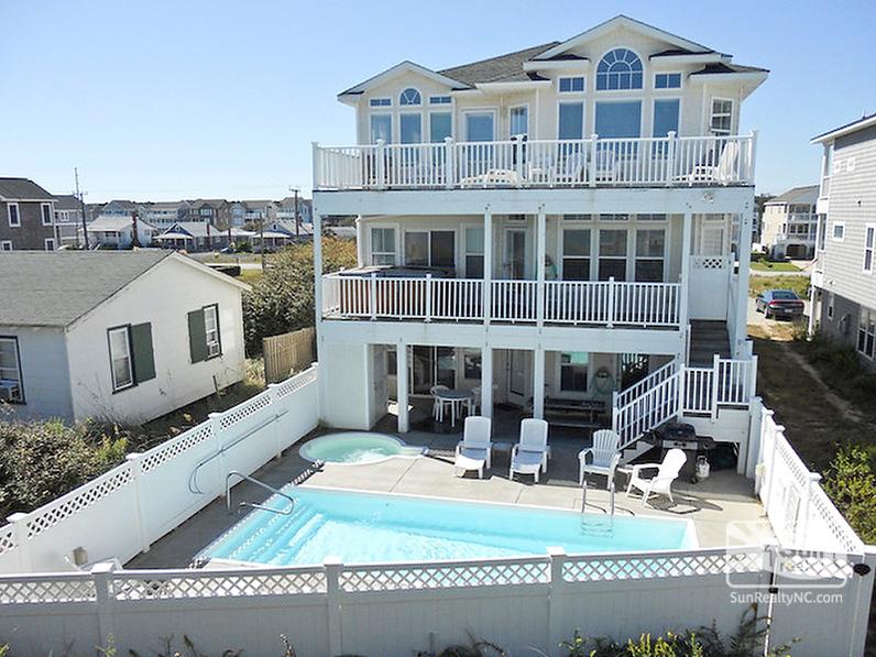Sandcastle 485-A Oceanfront Exterior