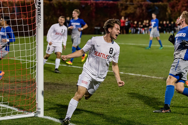 2017 Seattle U Men's Soccer vs HBU