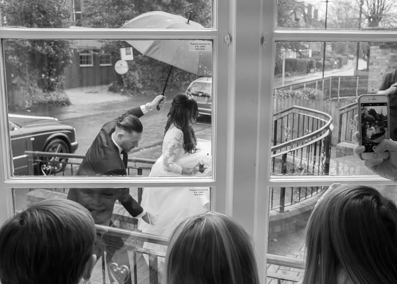 Bride i the Rain