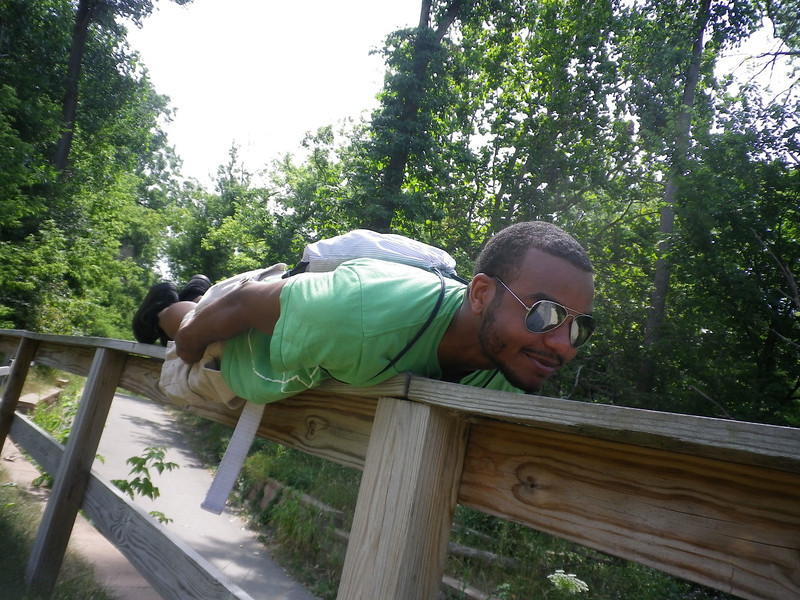 Planking with Eric and Elijah