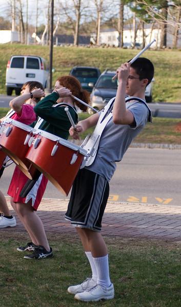 Drum Line Pinkerton Academy 3.23.12
