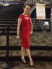 Lauren Wilson red dress full Sept 13 2013