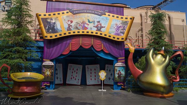 Disneyland Resort, Disney California Adventure, Hollywood Land, Sunset, Showcase, Theater