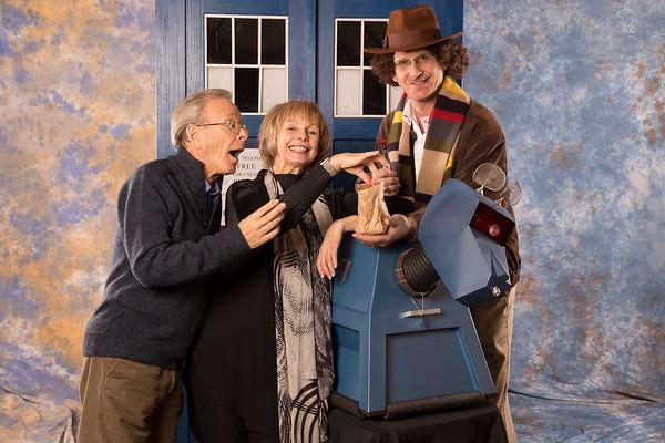 Fourth Doctor Companions Romana and K9: Lalla Ward and John Leeson 1pm