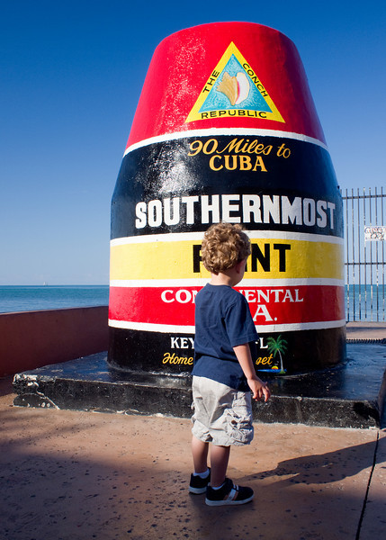 Southernmost toddler in the continental US