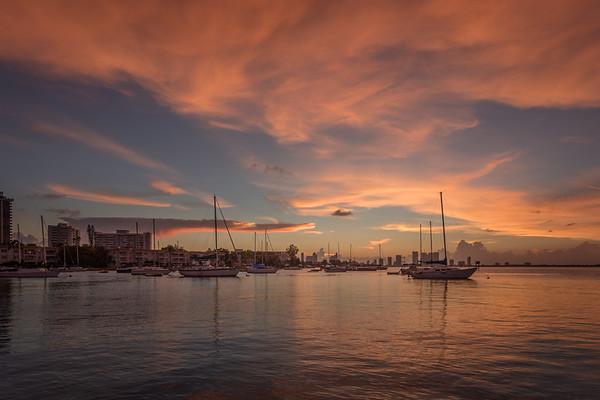 MiamiSunset|Skyline|OceanDrive08-30-17