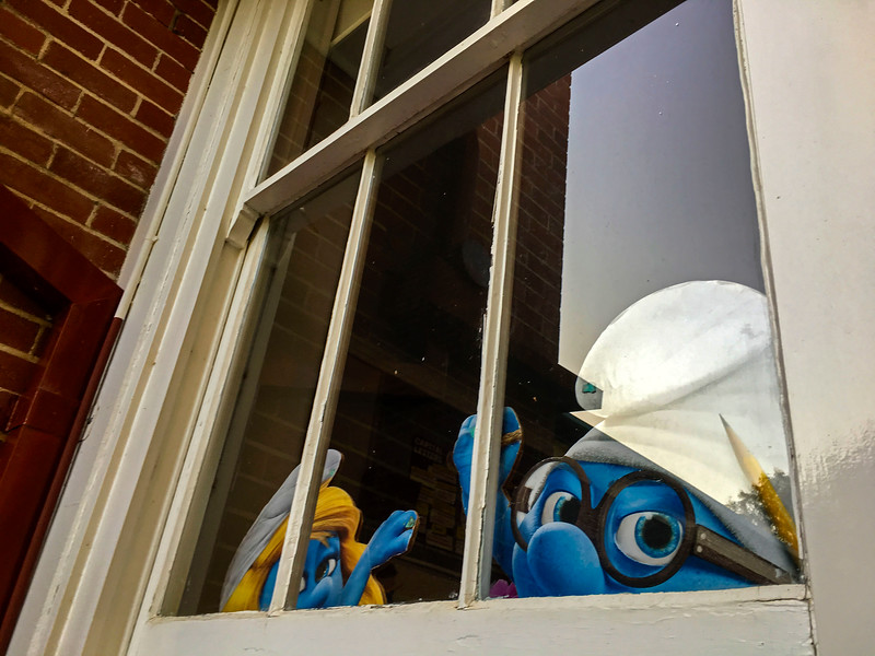 Smurfs In Hiding