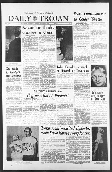 Daily Trojan, Vol. 58, No. 21, October 18, 1966