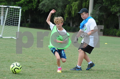 Simply Soccer Camp W-3 July 6-10, 2020