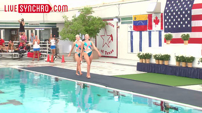Event 06 - Senior Duet Tech Routine - 2013 US Open