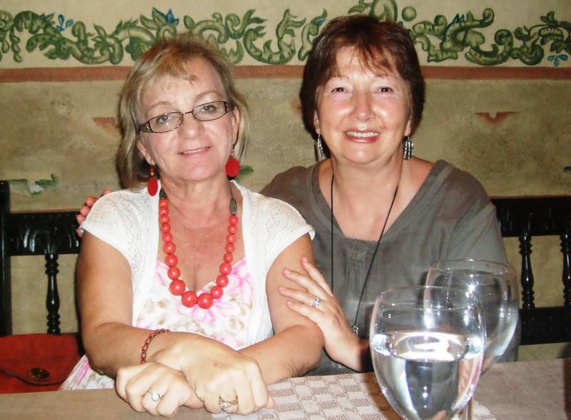 At El Patio restaurant - 9