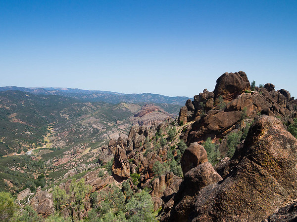 Pinnacles spring hike
