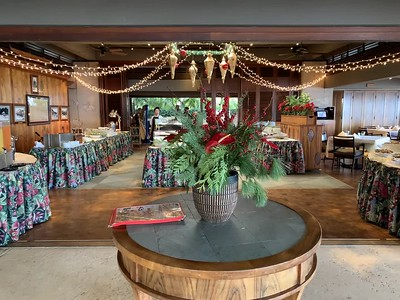 Christmas 2019 at the Outrigger Canoe Club