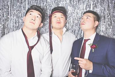 9-18-21 Duluth Royal China Photo Booth - Heather & Bernard's Wedding - Robot Booth