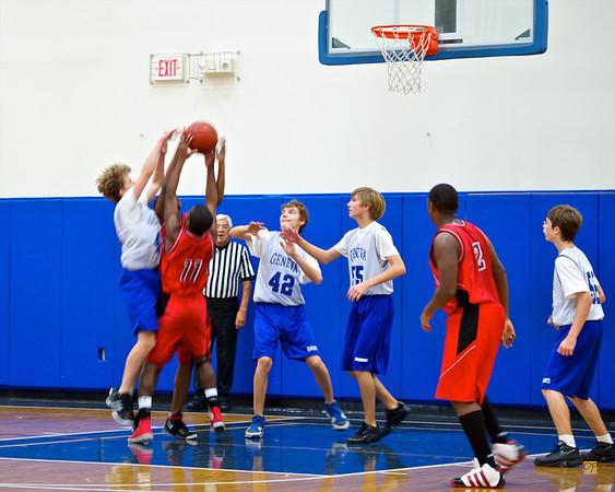 7th/8th Basketball vs. Kingsway Christian Academy-December 17, 2010