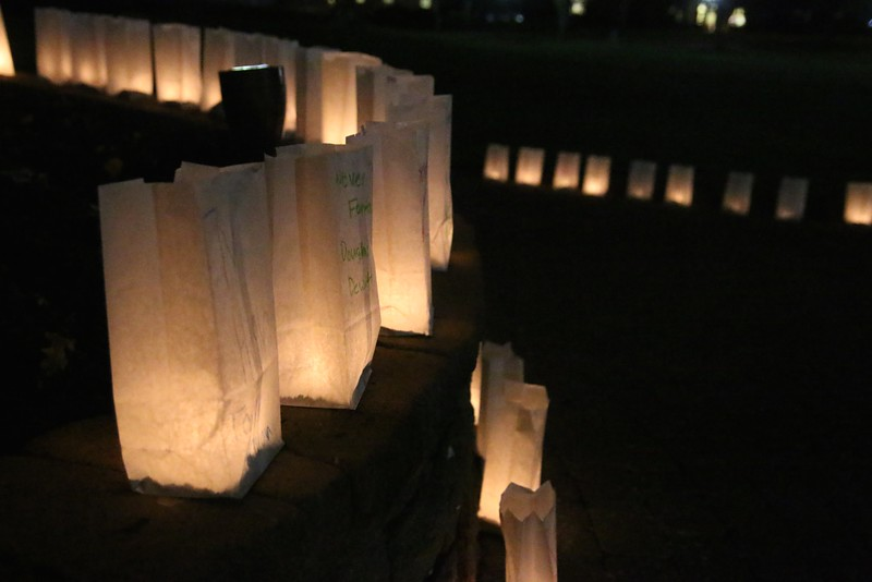 On Wednesday evening, October 14th, a Candlelight Vigil was held honoring over 400 students in the North Carolina area (2 known by students at Gardner-Webb) that have died in an accident involving drunk driving.