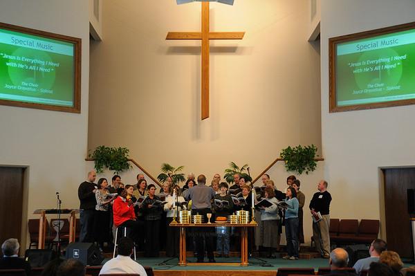 February 22, 2009 Worship Service