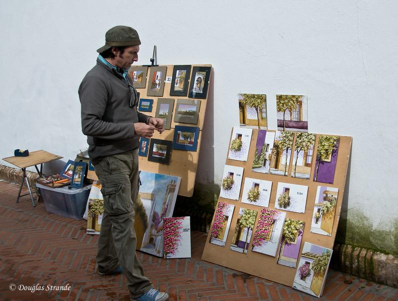 Tue 3/15 in Seville: Street Artist