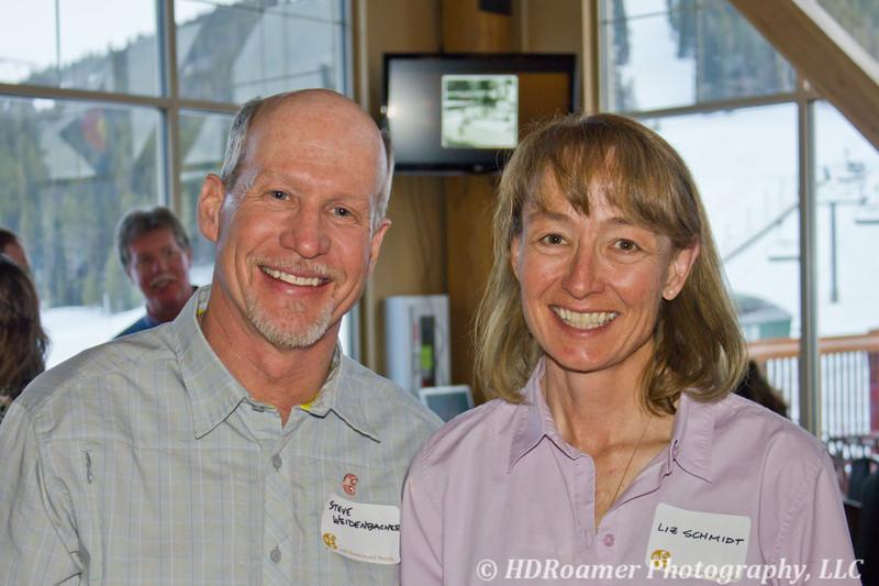 Steve Weidenbacher & Liz Schmidt