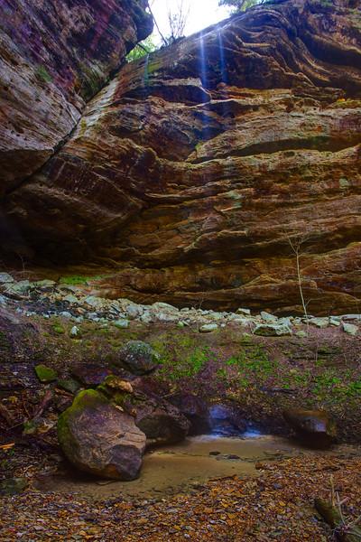 Flea Cave Hollow Falls