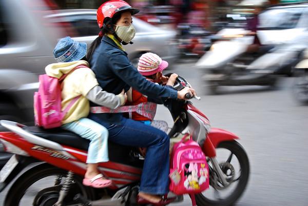 Hanoi Street Life - Vietnam