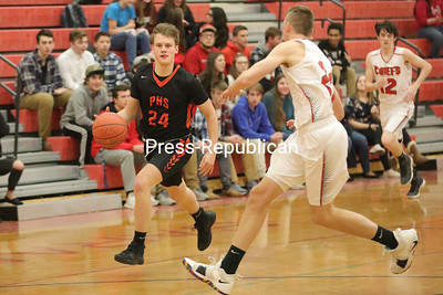 Boys Basketball — Saranac vs. Plattsburgh High