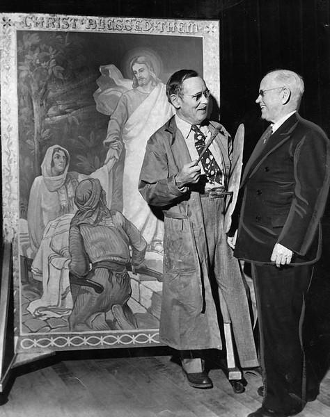 1949, Religious Murals