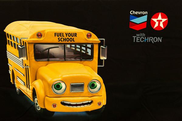 Chevron Donation to Kruse Elementary School