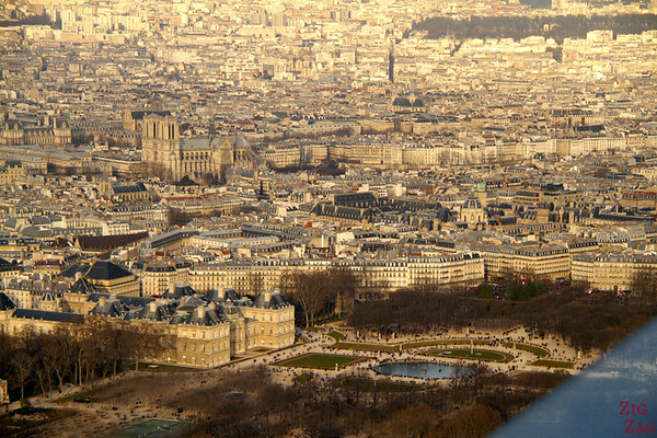 View Paris From Montparnasse Tower 1