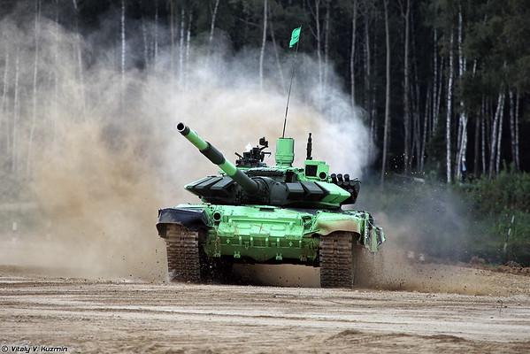 Army Games and Tank biathlon
