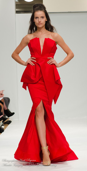 Global Glamour Casting Produced by The Fashion Gallery. Designer: Michael Costello Photographer: Hank Pegeron
